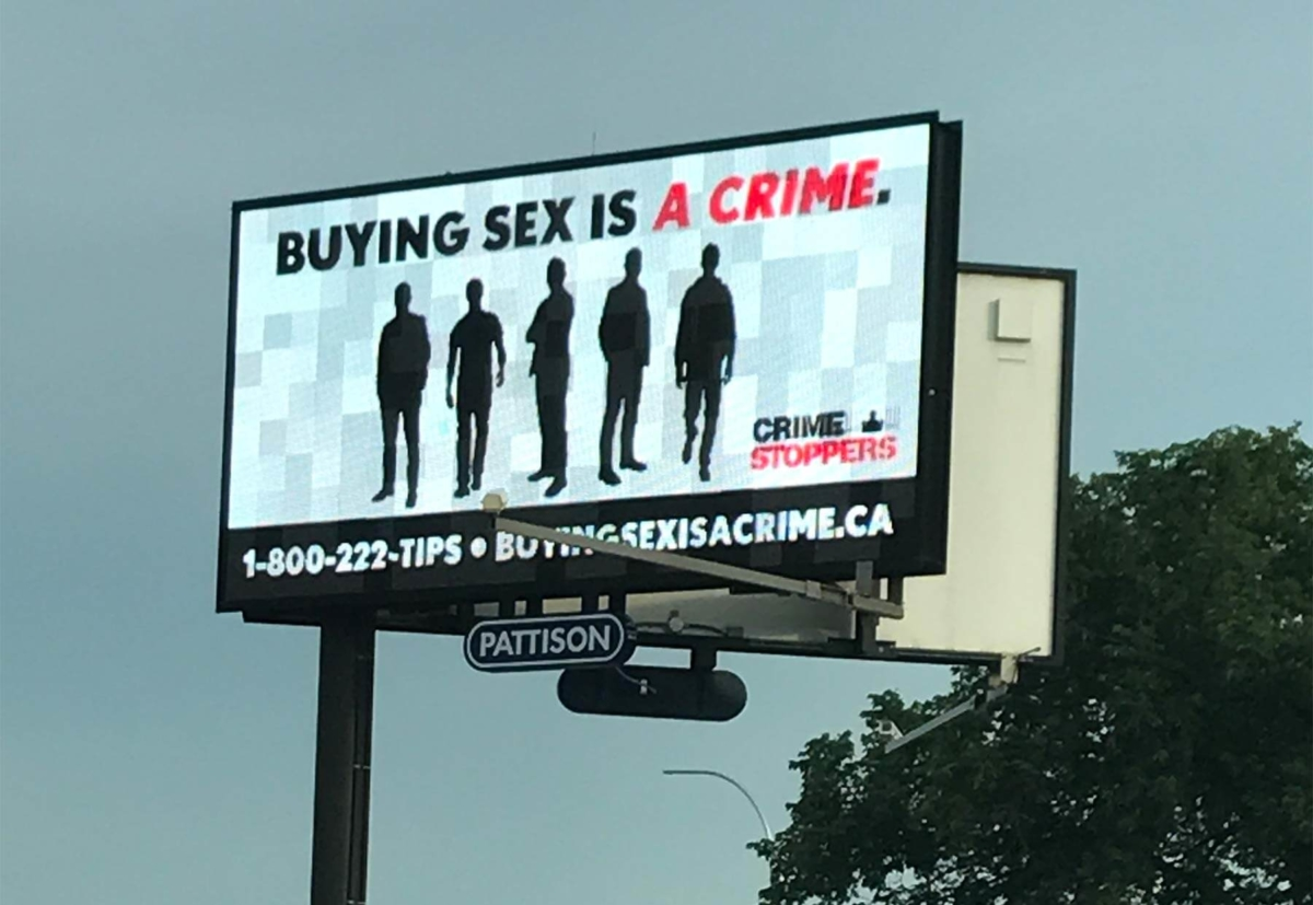 Buying Sex is a Crime